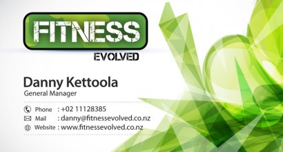 Fitness Boot Camp Business Card