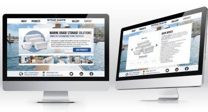 Website Mockups for Stormate