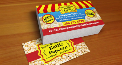 Kettlecorn Business Cards