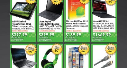 Computer Product Flyer