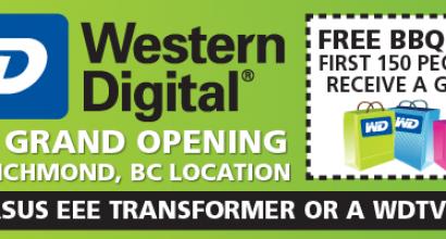 Western Digital Web Header