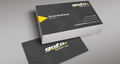Goto Pallets Business Cards