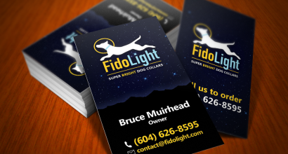 Fidolight Business Cards